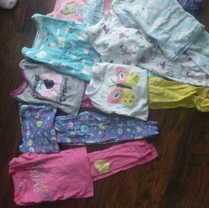 *BUNDLE* 10 sets of Carter's pajamas 18 month size
